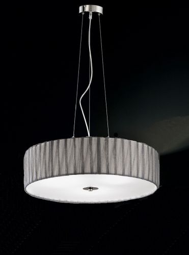 Franklite FL2284/4 Satin Nickel Pendant Light